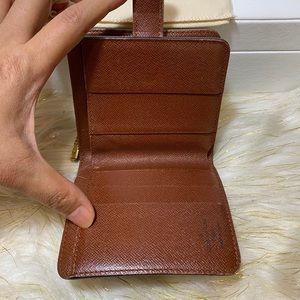 Louis Vuitton Monogram Compact Zippy Bifold wallet